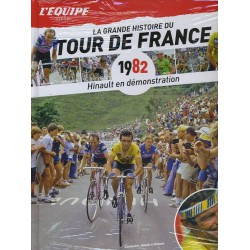 LA GRANDE HISTOIRE DU TOUR DE FRANCE. DEEL 22 1982.