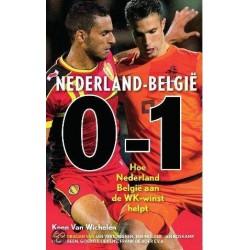 NEDERLAND-BELGIE 0-1