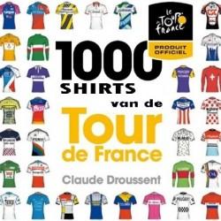 100 SHIRTS VAN DE TOUR DE FRANCE. Verschijnt in juni.