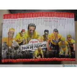 LA GRANDE HISTOIRE DU TOUR DE FRANCE. IN 45 DEELTJES.