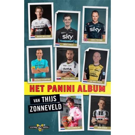 HET PANINI-ALBUM VAN THIJS ZONNEVELD. Verschijnt 27 maart.