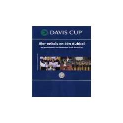DAVIS CUP. Vier enkels en één dubbel.   !!! UITVERKOCHT