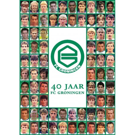 40 JAAR FC GRONINGEN