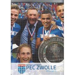 PEC ZWOLLE HET OFFICIELE JAARBOEK 2014-2015