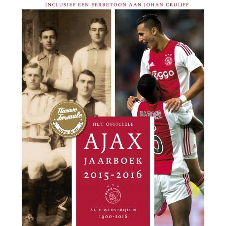 AJAX JAARBOEK 2015-2016 / 1900-2016.