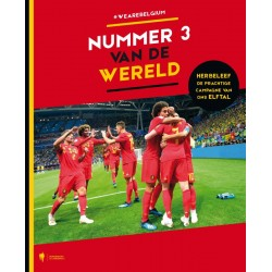 NUMMER 3 VAN DE WERELD. WE ARE BELGIUM.