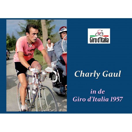 CHARLY GAUL IN DE GIRO D'ITALIA 1957